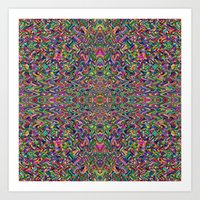 persian Art Prints featuring Persian by Glanoramay