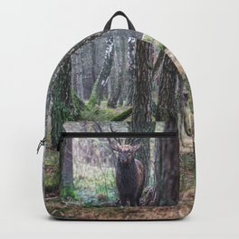 Deer, King Of The Forest Backpack