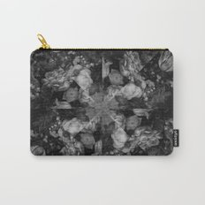 Botanical Darkness Kaleidoscope Carry-All Pouch