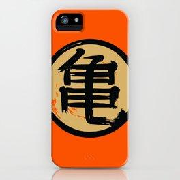 Goku Kame kanji Dragon Vegeta iPhone Case