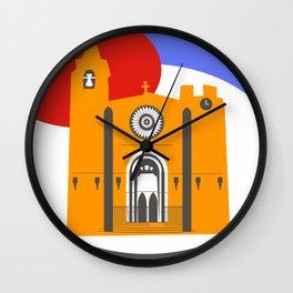 Noia, a beautiful town in Galicia Wall Clock