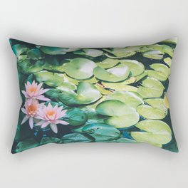 Beauty in the Shadow Rectangular Pillow