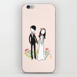 It takes two iPhone Skin