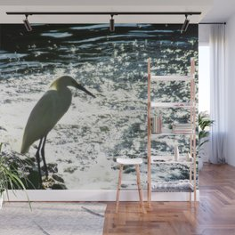 The Egret Wall Mural