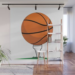 Basketball Tee Wall Mural
