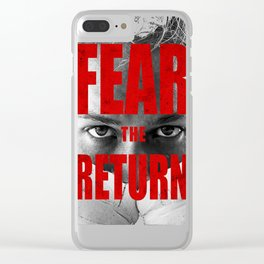 Official Ronda Rousey - Fear the Return Tee Clear iPhone Case