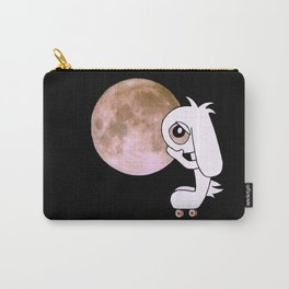Roll on the Moon, Bunny # Bob The Lop Carry-All Pouch