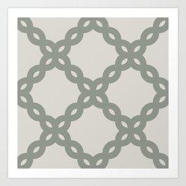 fancy chains Art Print