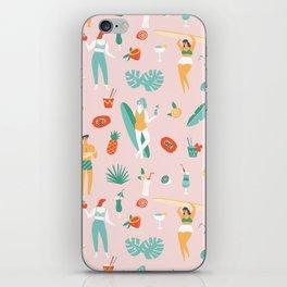 Beach party iPhone Skin