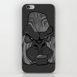 Gorilla - Harbour Mist Grey iPhone Skin