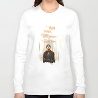 merlin Long Sleeve T-shirts featuring Merlin: Myth and Magic by Adam Dens
