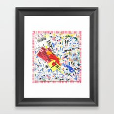 Crapkin Framed Art Print