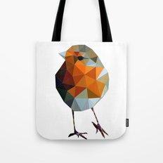 Christmas Poly robin Tote Bag
