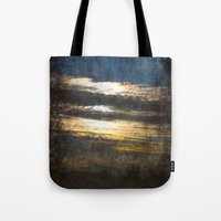 all seeing eye Tote Bags featuring All-Seeing Eye by GLR67