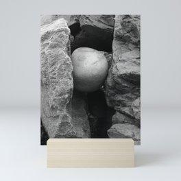 Rock Between Two Hard Places Mini Art Print