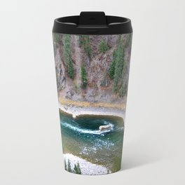 Kootenai River Metal Travel Mug