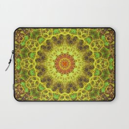Dimensional Transition Mandala Laptop Sleeve