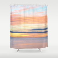 cape cod Shower Curtains featuring cape cod light by marie grady palcic