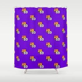 FC Barcelona Pattern Shower Curtain