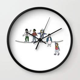 Stranger Things The Acrobats and the Fleas Wall Clock