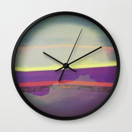 Signs in the Sky Collection - Falling Moon Wall Clock