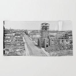 Charleston, S.C. 1865 Beach Towel