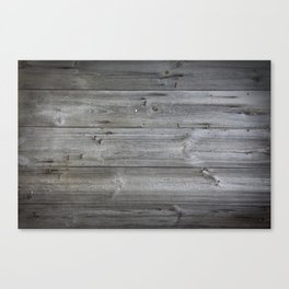 Wood texture - wooden background 1 Canvas Print