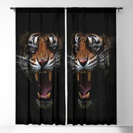 Tiger Blackout Curtain