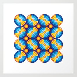 Microphysical 06 Art Print