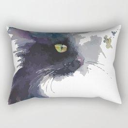 A cat profile Rectangular Pillow