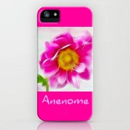 Anenome iPhone Case