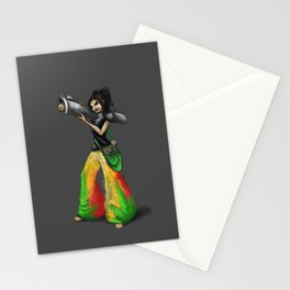 Kittie Launcher Stationery Cards