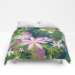Rainforest by Night Comforters