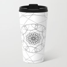love mandala number 2 Metal Travel Mug