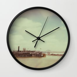Mississippi River Wall Clock