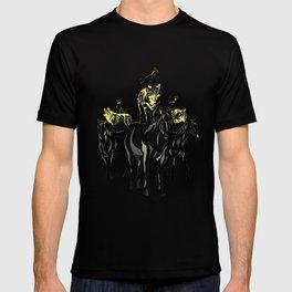 Cats on Wolfes on Horses // Des chats sur des loups sur des chevaux // Geoffroy MONDE T-shirt