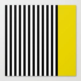 Liquorice allsorts, yellow Canvas Print