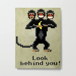 Three-Headed Monkey Metal Print