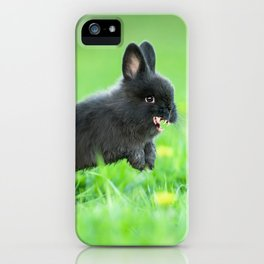 Killer Bunny iPhone Case