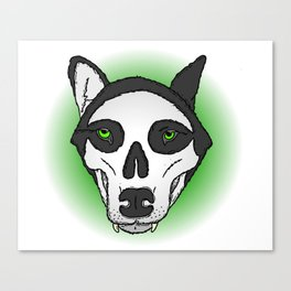 Death Wolf Canvas Print