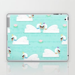 Serene Swans Laptop & iPad Skin