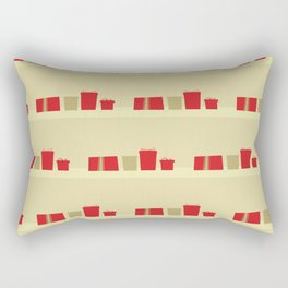 Retro Holiday Gifts Rectangular Pillow
