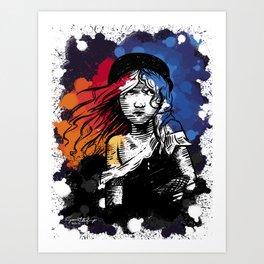 Le Mis Art Print