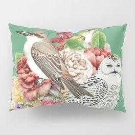 Lady with Birds(portrait) 2 Pillow Sham