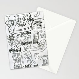 if the phone doesn't ring, it's me Stationery Cards