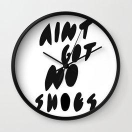 Ain't got no Wall Clock