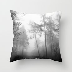 TROUGHT THE FOREST Throw Pillow