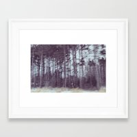 forrest Framed Art Prints featuring Forrest by Anthony Londer