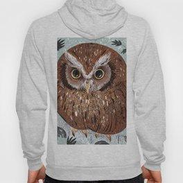 Painted Owl Hoody