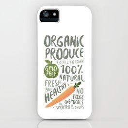 Organic Produce iPhone Case